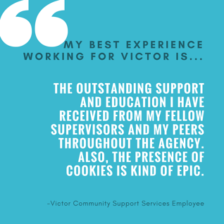 My Best Experience Working for Victor 1...