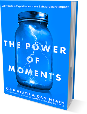 The Power of Moments Book Image